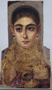 1951 Portrait du FaYoum 117-138 fayoum 42x24 Louvre