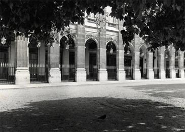 Khawam KHEPRI Gallery, Palais Royal gardens 1977
