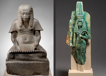 Pharaon HOREMEB et Reine TIY Musée Louvre